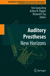 Auditory Prostheses by Arthur Popper
