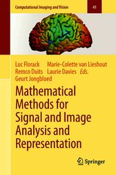 Mathematical Methods for Signal and Image Analysis and Representation by Marie-Colette van Lieshout