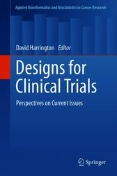Designs for Clinical Trials by David Harrington