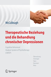 Treating Chronic Depression with Disciplined Personal Involvement by Jr. McCullough