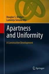 Apartness and Uniformity by Douglas S. Bridges