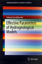Effective Parameters of Hydrogeological Models by Vikenti Gorokhovski