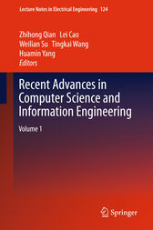 Recent Advances in Computer Science and Information Engineering by Zhihong Qian