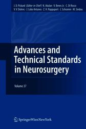 Advances and Technical Standards in Neurosurgery by J. D. Pickard