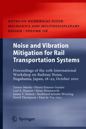 Noise and Vibration Mitigation for Rail Transportation Systems by Tatsuo Maeda