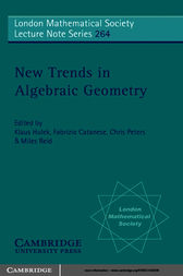 New Trends in Algebraic Geometry by K. Hulek