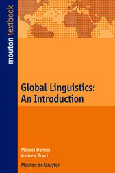Global Linguistics by Marcel Danesi