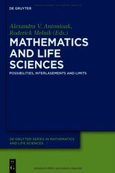Mathematics and Life Sciences by Robert Anderssen
