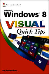 Windows 8 Visual Quick Tips by Paul McFedries