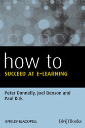 How to Succeed at E-learning by Peter Donnelly