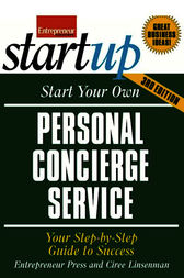 Start Your Own Personal Concierge Service by Entrepreneur Press