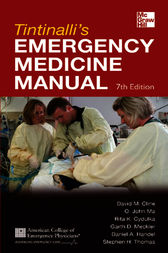 Tintinalli's Emergency Medicine Manual 7/E by David Cline