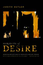 Subjects of Desire by Judith Butler