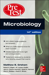 Microbiology PreTest Self-Assessment and Review 14/E by James Kettering