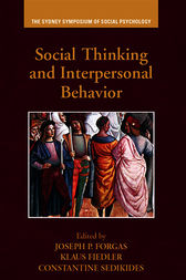 Social Thinking and Interpersonal Behavior by Joseph P. Forgas