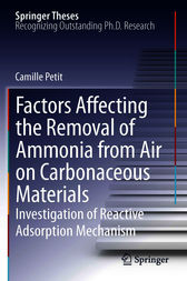 Factors Affecting the Removal of Ammonia from Air on Carbonaceous Materials by Camille Petit
