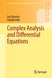 Complex Analysis and Differential Equations by Luis Barreira