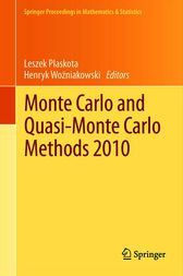 Monte Carlo and  Quasi-Monte Carlo Methods 2010 by unknown