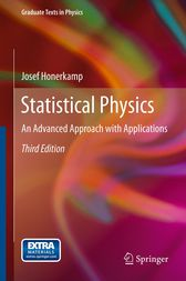 Statistical Physics by Josef Honerkamp
