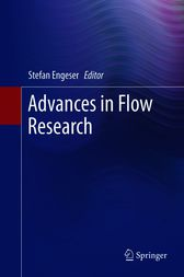 Advances in Flow Research by Stefan Engeser
