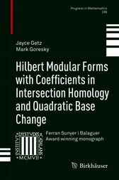 Hilbert Modular Forms with Coefficients in Intersection Homology and Quadratic Base Change by Jayce Getz