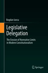 Legislative Delegation by Bogdan Iancu