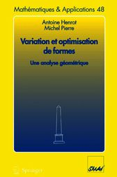 Variation et optimisation de formes by Antoine Henrot