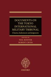 Documents on the Tokyo International Military Tribunal