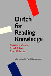 Dutch for Reading Knowledge by Christine van Baalen