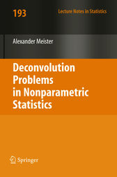 Deconvolution Problems in Nonparametric Statistics by Alexander Meister