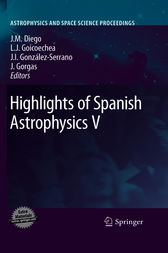 Highlights of Spanish Astrophysics V by Jose M. Diego