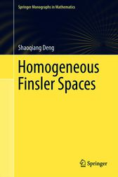 Homogeneous Finsler Spaces by Shaoqiang Deng