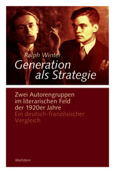 Generation als Strategie by Ralph Winter