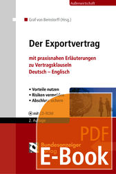 Der Exportvertrag (E-Book) by Christoph Graf von Bernstorff