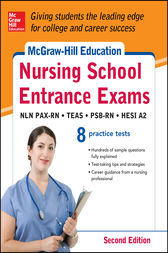 McGraw-Hill's Nursing School Entrance Exams with Downloadable Tests