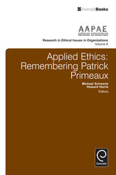 Applied Ethics by Michael Schwartz