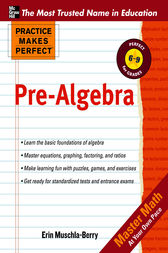 Practice Makes Perfect Pre-Algebra