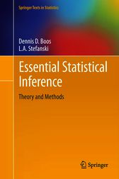 Essential Statistical Inference by Dennis D. Boos