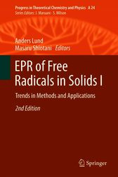 EPR of Free Radicals in Solids I by Anders Lund