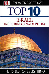 DK Eyewitness Top 10 Travel Guide: Israel, Sinai and Petra by Dorling Kindersley Ltd