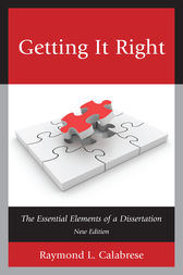 Getting It Right by Raymond L. Calabrese