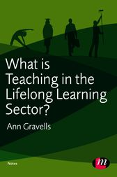 ann gravells teacher referral points Education and training sector, and at any point in their career sector view 7 3  teachers and trainers should know and be able to apply teaching skills.
