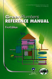GreenPlumbers Reference Manual by IAPMO; GreenPlumbers Training