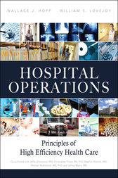 Hospital Operations by Wallace J. Hopp