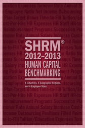 SHRM 2012-2013 Human Capital Benchmarking