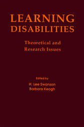 Learning Disabilities by H. Lee Swanson