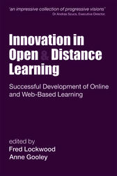 Innovation in Open and Distance Learning by Anne (Chief Executive Gooley
