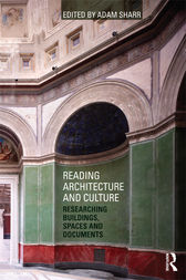 Reading Architecture and Culture by Adam Sharr