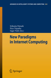 New Paradigms in Internet Computing by Srikanta Patnaik