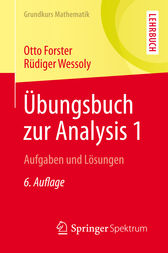 Übungsbuch zur Analysis 1 by Otto Forster